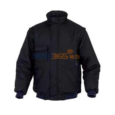 代尔塔405417 拉链式可脱卸袖口防风雪防水防寒服